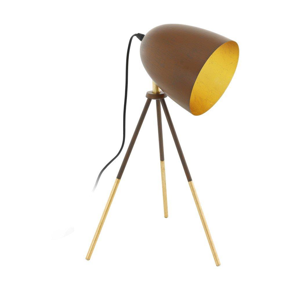 AcheterLuminaires Chester Total Lampe De Eglo Table 1 Rouille kZliuwXTPO