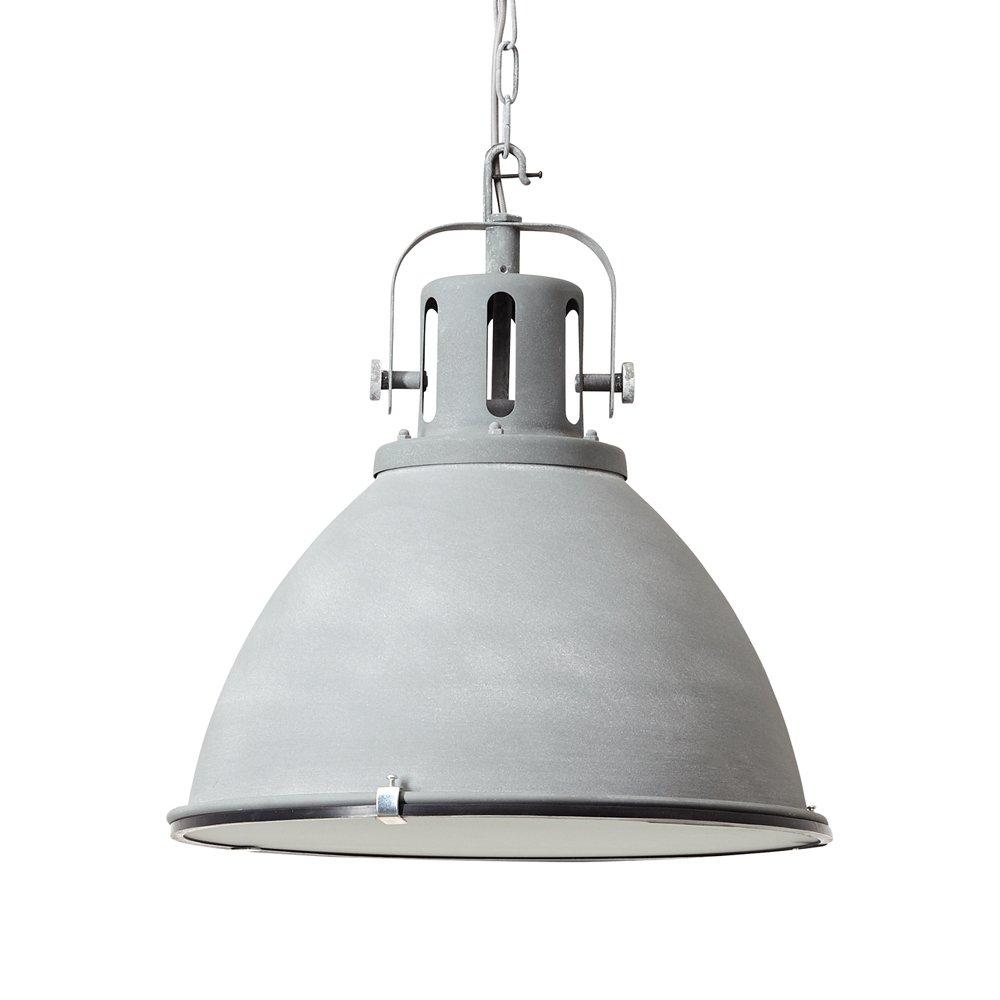 À 48cmBéton Lampe De Brilliant Acheter Suspension Jesper Gris 08knwOP